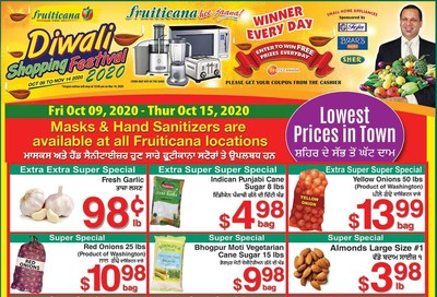 Fruiticana (Edmonton) Flyer October 9 to 15