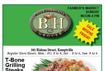 B&H Your Community Grocer Flyer September 13 to 19