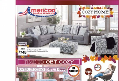 American Furniture Warehouse (AZ) Weekly Ad Flyer October 11 to October 17