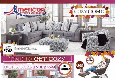 American Furniture Warehouse (CO) Weekly Ad Flyer October 11 to October 17