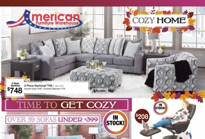 American Furniture Warehouse (TX) Weekly Ad Flyer October 11 to October 17