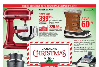 Canadian Tire (ON) Flyer December 13 to 19