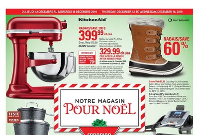 Canadian Tire (QC) Flyer December 12 to 18