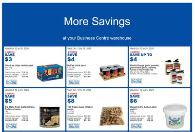 Costco Business Centre (Scarborough, ON) Instant Savings Flyer October 12 to 25