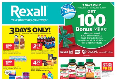 Rexall (ON) Flyer December 13 to 19