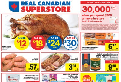 Real Canadian Superstore (West) Flyer December 13 to 19