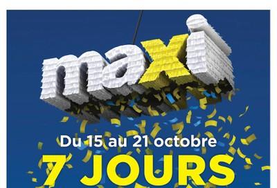 Maxi & Cie Flyer October 15 to 21