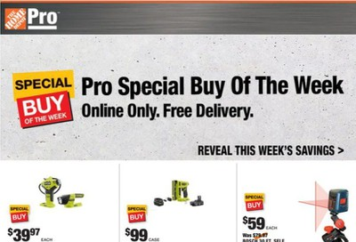 The Home Depot Weekly Ad Flyer October 12 to October 19