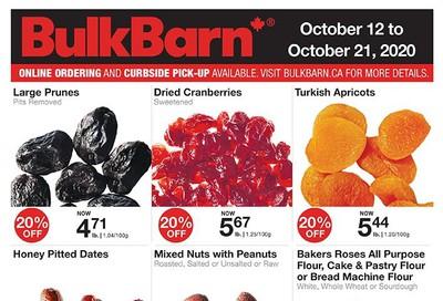 Bulk Barn Flyer October 12 to 21
