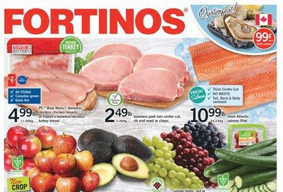 Fortinos Flyer October 15 to 21
