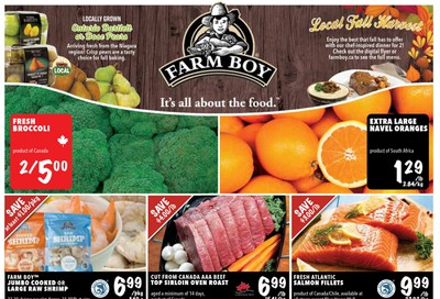 Farm Boy Flyer October 15 to 21
