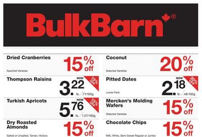Bulk Barn Flyer December 12 to 24