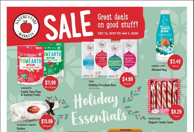 Nature's Fare Markets Flyer December 12 to January 1