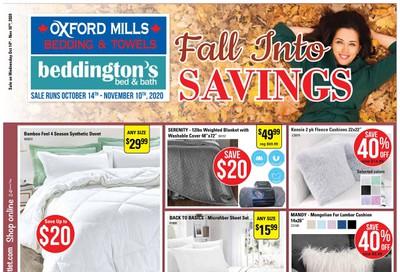 Oxford Mills Flyer October 14 to November 10