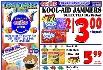 Fredericton Co-op Flyer October 15 to 21