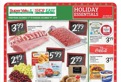 Shop Easy & SuperValu Flyer December 13 to 19
