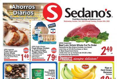 Sedano's (FL) Weekly Ad Flyer October 14 to October 20
