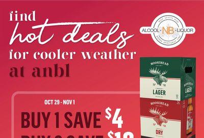 Alcool NB Liquor Flyer October 13 to November 1
