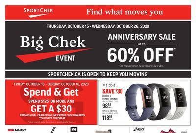 Sport Chek Flyer October 15 to 28