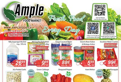 Ample Food Market Flyer October 16 to 22