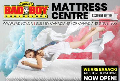 Lastman's Bad Boy Superstore Mattresses Flyer October 8 to November 4