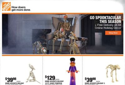 The Home Depot Weekly Ad Flyer October 15 to October 22