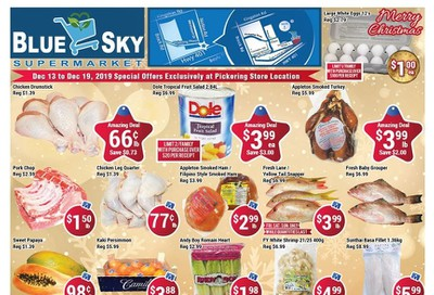 Blue Sky Supermarket (Pickering) Flyer December 13 to 19