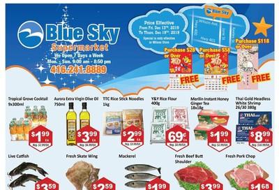 Blue Sky Supermarket (North York) Flyer December 13 to 19