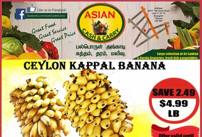 Asian Cash & Carry Flyer October 16 to 22