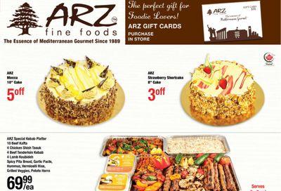 Arz Fine Foods Flyer October 16 to 22
