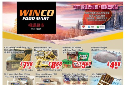 WinCo Food Mart (HWY 7) Flyer December 12 to 18