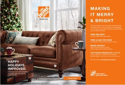 The Home Depot Weekly Ad Flyer October 16 to December 25