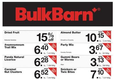 Bulk Barn Flyer September 12 to 25