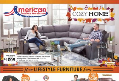 American Furniture Warehouse (CO) Weekly Ad Flyer October 18 to October 24
