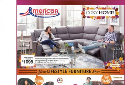 American Furniture Warehouse (AZ) Weekly Ad Flyer October 18 to October 24