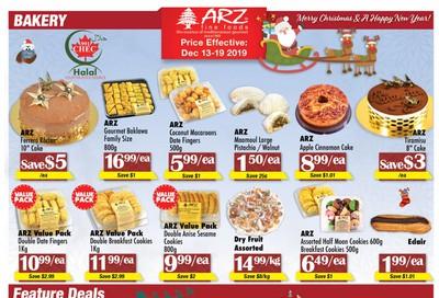 Arz Fine Foods Flyer December 13 to 19