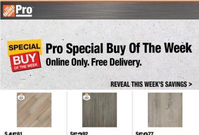 The Home Depot Weekly Ad Flyer October 19 to October 26