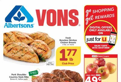 Albertsons Weekly Ad Flyer October 21 to October 27
