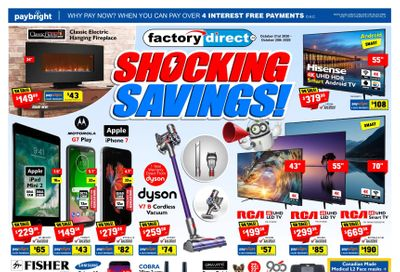 Factory Direct Flyer October 21 to 28