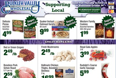 Bulkley Valley Wholesale Flyer October 22 to 28
