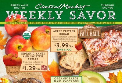 Central Market (TX) Weekly Ad Flyer October 21 to October 27