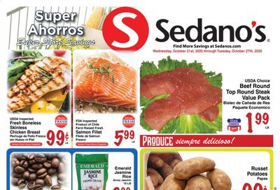 Sedano's (FL) Weekly Ad Flyer October 21 to October 27