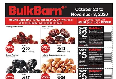 Bulk Barn Flyer October 22 to November 8