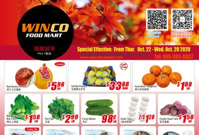 WinCo Food Mart (HWY 7) Flyer October 22 to 28