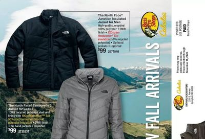 Cabela's Weekly Ad Flyer October 21 to November 11