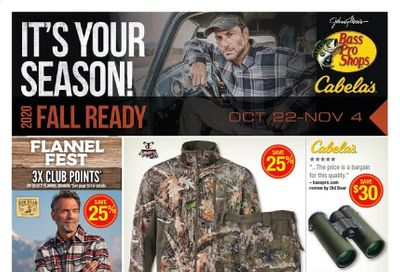 Cabela's Weekly Ad Flyer October 22 to November 4