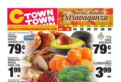 C-Town Weekly Ad Flyer October 23 to October 29