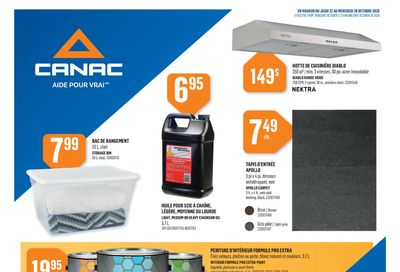 Canac Flyer October 22 to 28