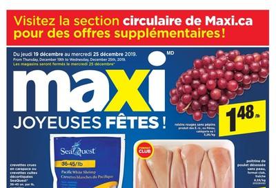 Maxi Flyer December 19 to 25