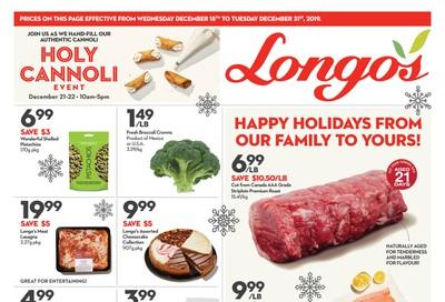 Longo's Flyer December 18 to 31